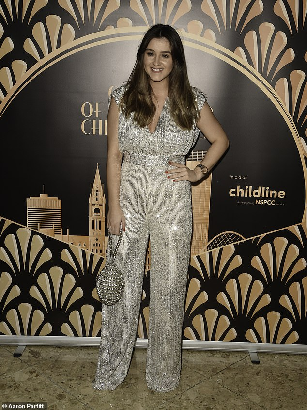 Brooke Vincent displays her incredible post-baby body in jumpsuit