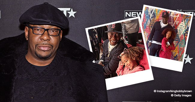 Bobby Brown Shares New Photos with His Wife and Look-Alike Kids  Fans Praise Him for Appearing Fit