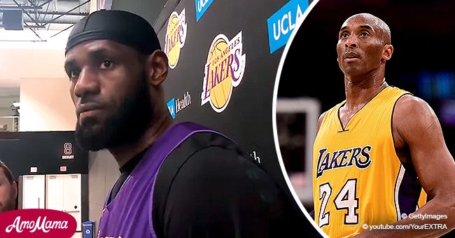 LeBron James Declines to Comment on Whether He Attended Kobe Bryant's Memorial in New Footage