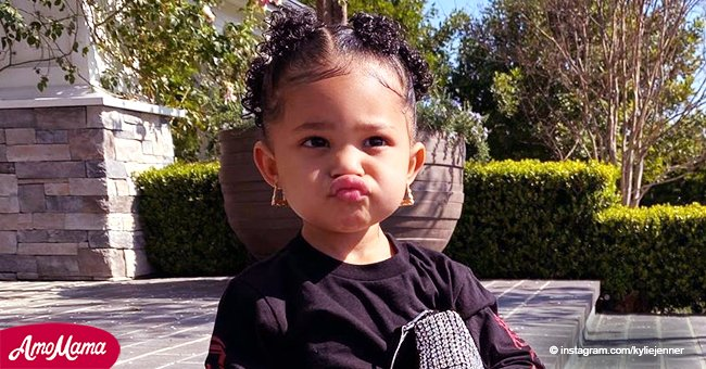 Kylie Jenner's Daughter Stormi, 2, Fashions Massive Earrings for the Second Time in a Month in Photos Mom Shared