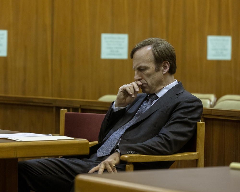 'Better Call Saul' Star Bob Odenkirk Reacts to Jimmy's Outburst at Howard Hamlin
