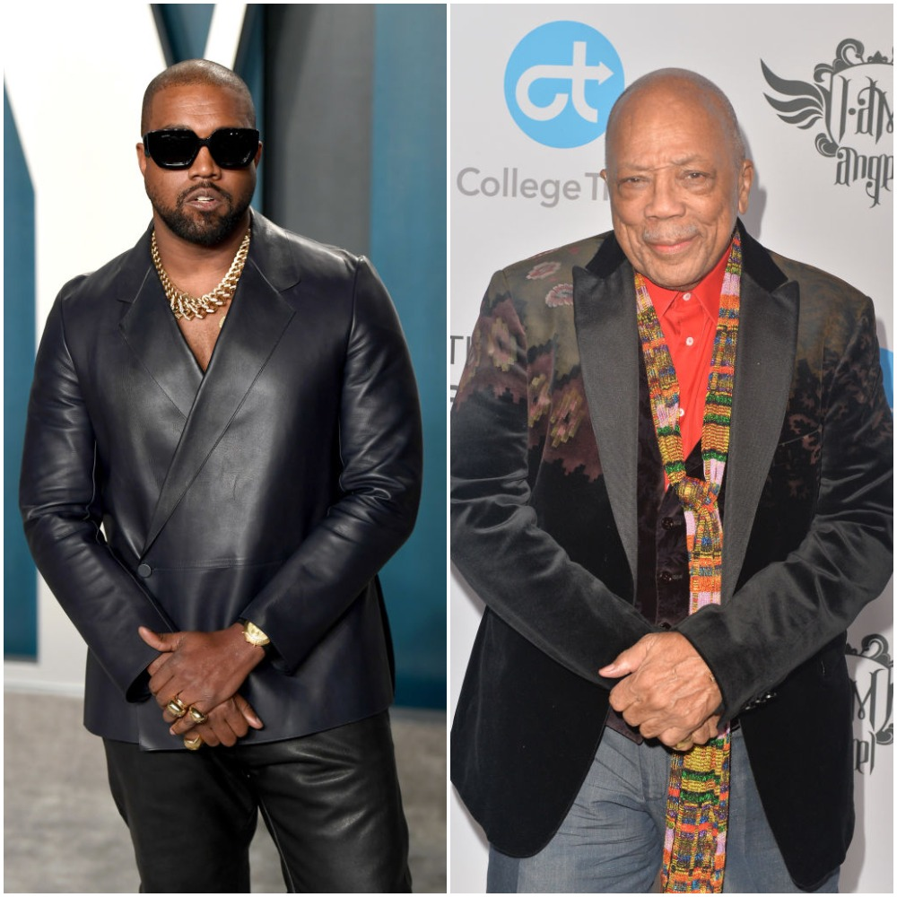 A DJ Just Credited Kanye West for Being a Better Music Producer Than Quincy Jones and Fans Are Not Having It