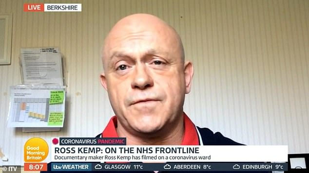 Ross Kemp defends NHS show after he was accused of 'draining supplies'