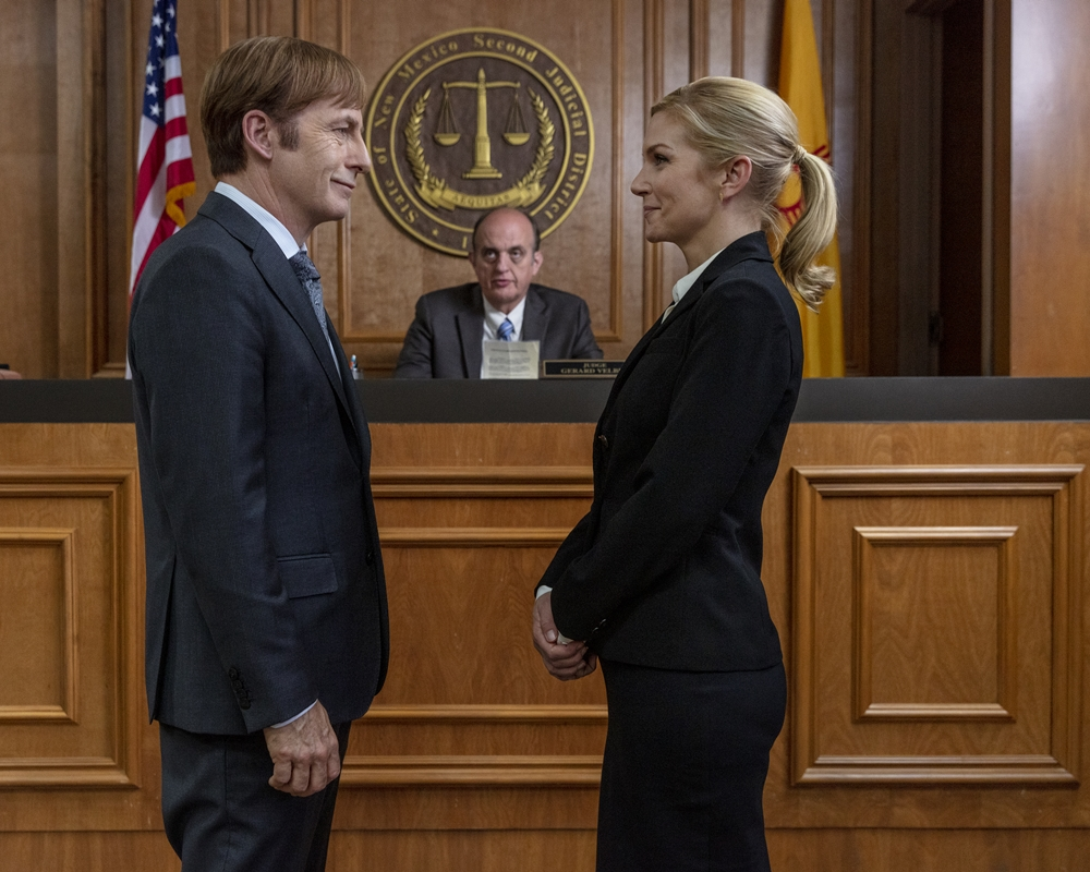 'Better Call Saul': Bob Odenkirk Reacts to Jimmy and Kim's Sex Scene