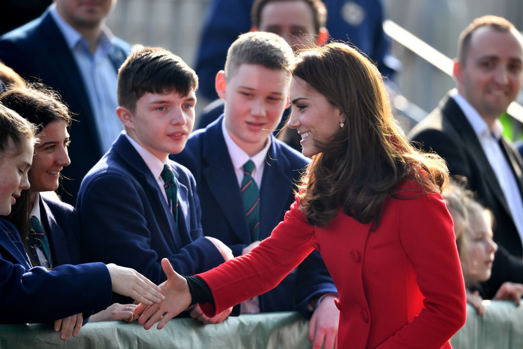 Kate Middleton Says She Gets Teased By Prince William's Family For What She Does During Walkabouts