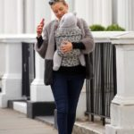 Rachel Riley enjoys leisurely stroll with baby daughter Maven