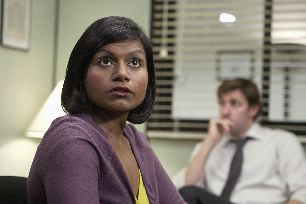 'The Office': Mindy Kaling Was 'Terrified' and 'Silent' in the Writer's Room