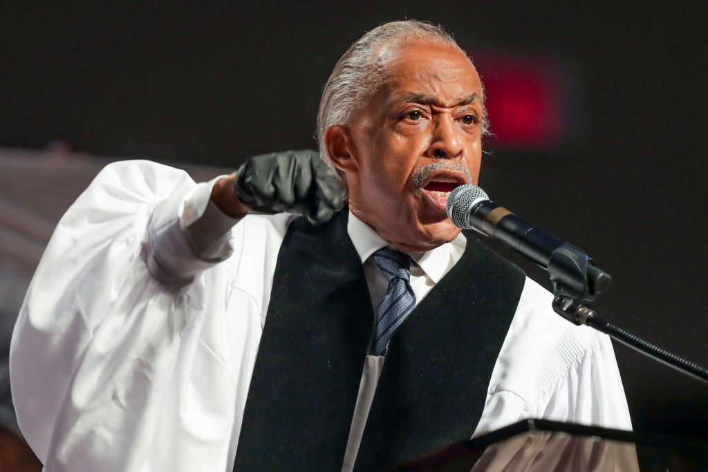 """Rest In Power: Rev. Al Sharpton Makes It Plain """"George Floyd's Death Was Not Just A Tragedy, It Was A Crime"""" [Video]"""