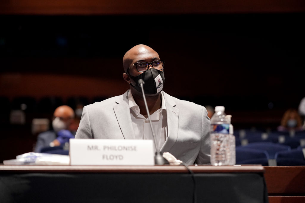 Truth To Power: George Floyd's Brother Philonise Floyd Addresses House Judiciary Committee