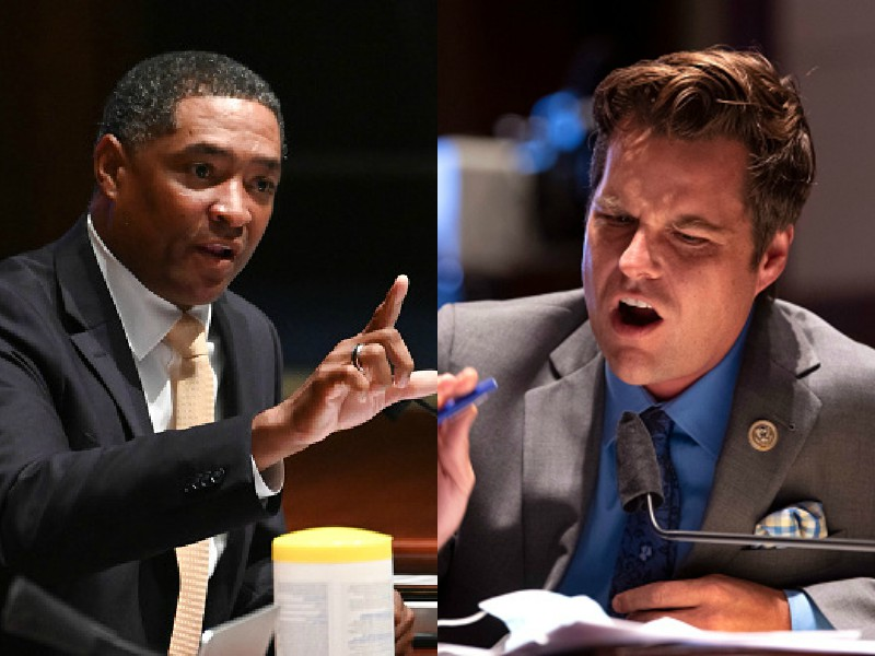 """Quote Of The Year: Louisiana Rep. Cedric Richmond Ethers Zack Morris Tethered Matt Gaetz, """"Was That A Nerve?"""" [Video]"""