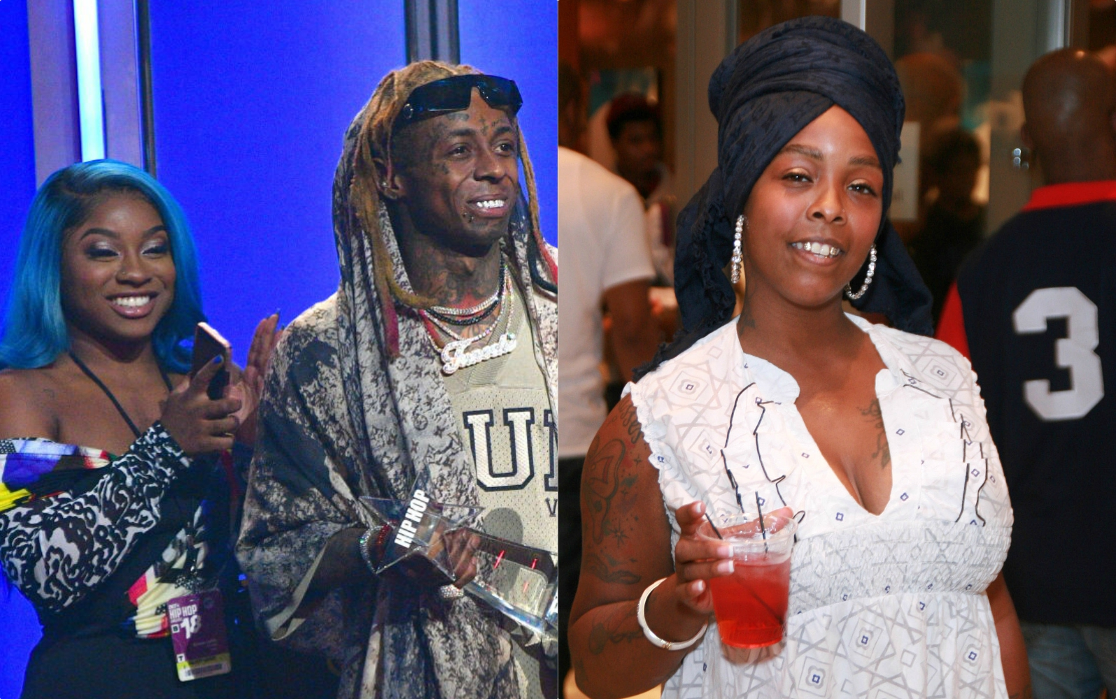 Messy Khia Drags Reginae Carter S Looks Plucks Lil Wayne S Dreads One By One Over His George Floyd Comments Thedailymagazines