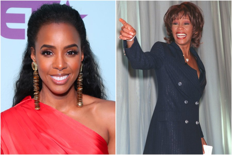 """Kelly Rowland Says She Acted """"Uncool"""" The First Time She Met Whitney Houston"""