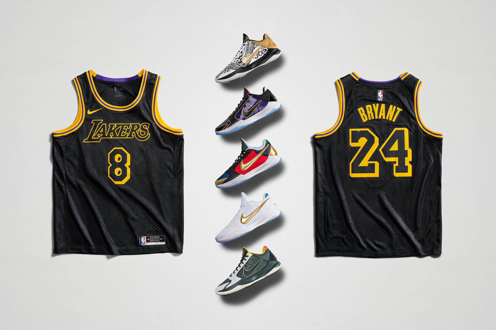 Nike's Celebrating Mamba Week In A Major Way With Limited Edition Kobe Bryant Jerseys & Sneakers