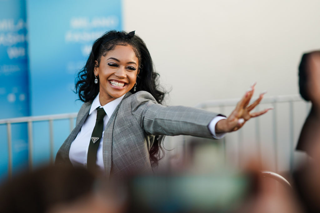 """Saweetie Taps DaBaby, Post Malone & Jack Harlow For A New Remix Of Her Smash Hit """"Tap In"""" [Video]"""