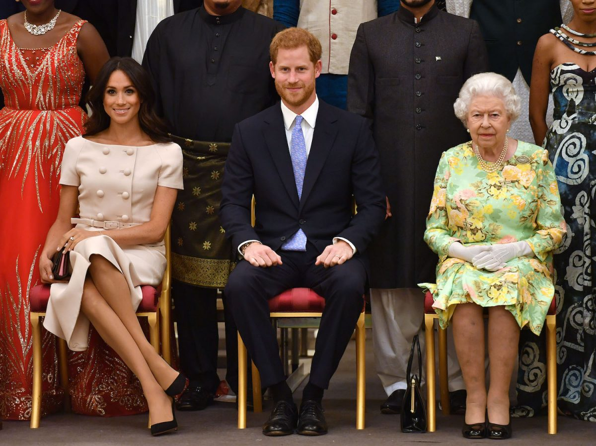 Queen Elizabeth II Made Meghan Markle Feel Welcome in a Small but Meaningful Way, 'Finding Freedom' Says