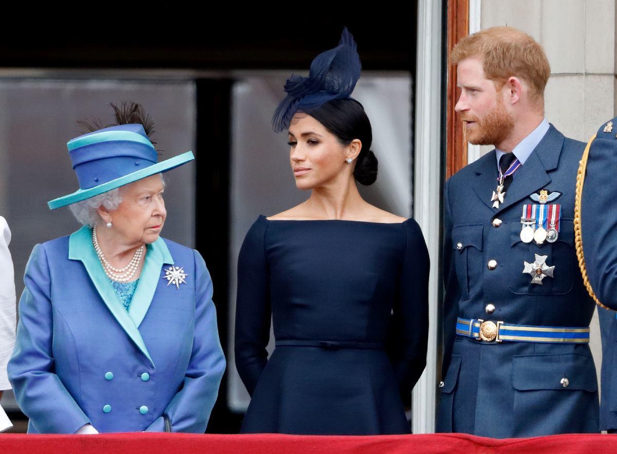 How Queen Elizabeth May Have Actually Encouraged Prince Harry and Meghan Markle's Exit