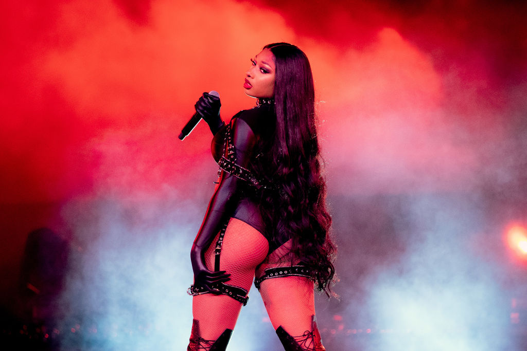 """Megan Thee Stallion Channels 'Alice In Wonderland' For """"Don't Stop"""" Visual With Young Thug [Video]"""