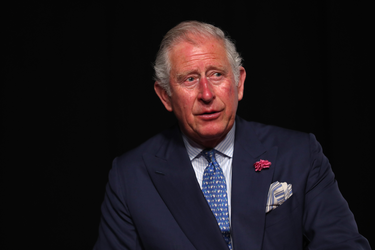 Prince Charles Finally Wears a Face Mask — With a Very Special Meaning