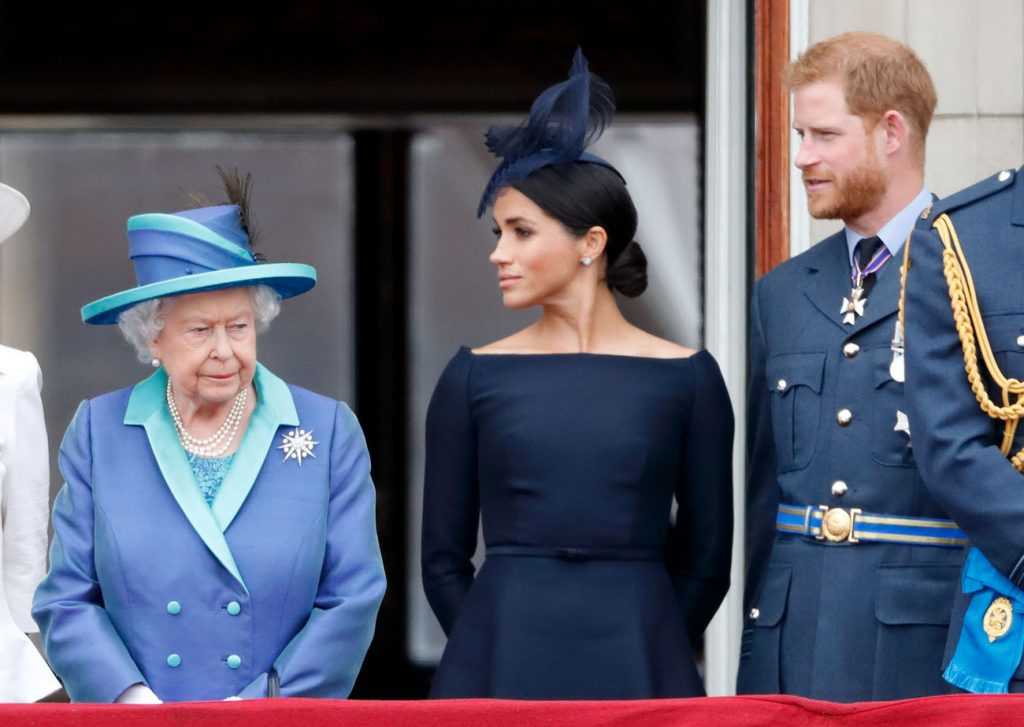 Queen Elizabeth Stripped Prince Harry and Meghan Markle of Their Titles Because She Does Not Trust Them, Royal Author Claims