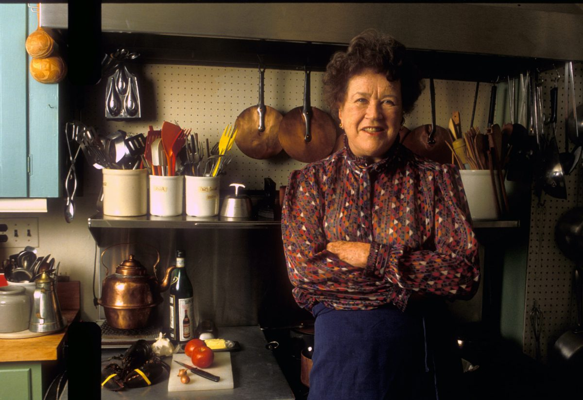 Julia Child Was the First Woman to Achieve a Major Culinary Institute of America Honor