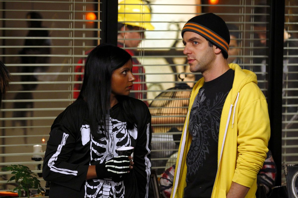 Mindy Kaling on 'The Office' Co-Star B.J. Novak as Her Kids' Godfather: 'Maybe He Was Not the Right Person To Pick'