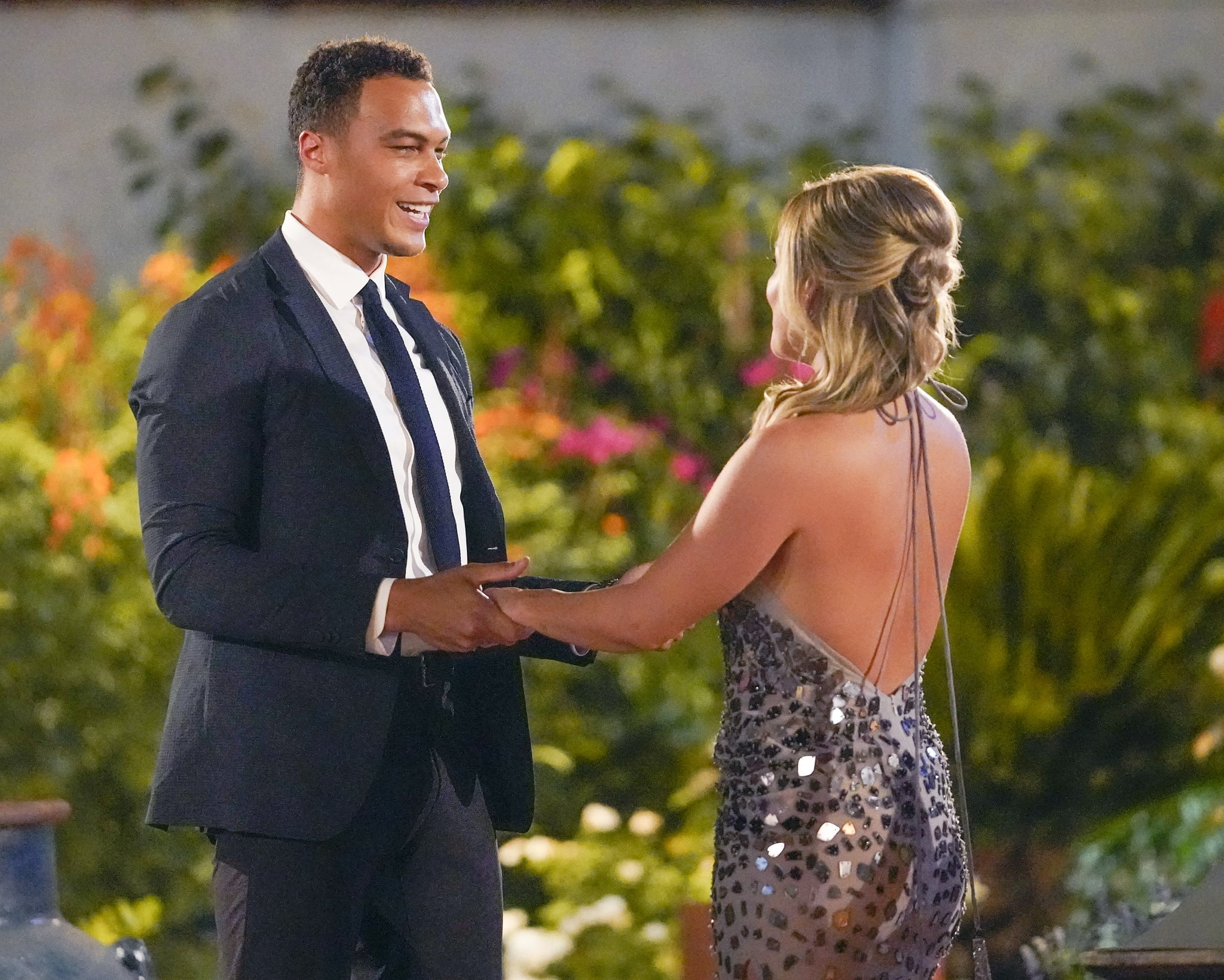 """The Bachelorette: Clare Gives Dale Moss the First Impression Rose After He Leaves Her """"Shaking"""""""
