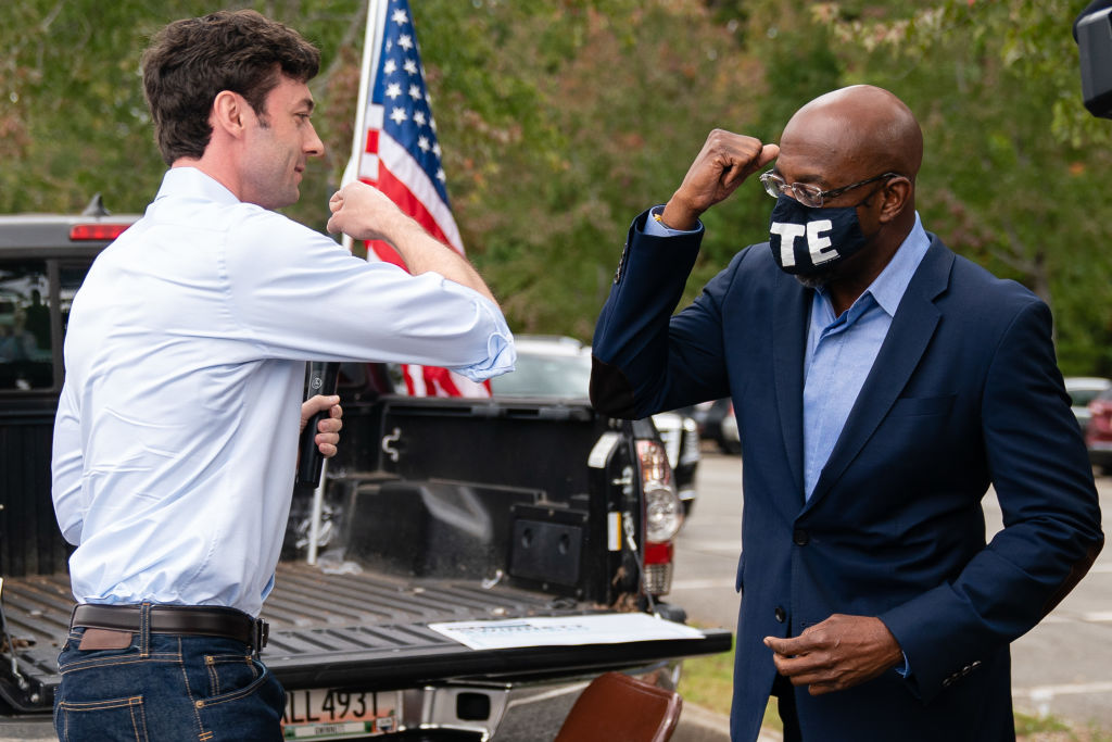 Barack Obama Pulls Up On Atlanta To Stump For Raphael Warnock And Jon Ossoff In Tightly Contested Senate Races