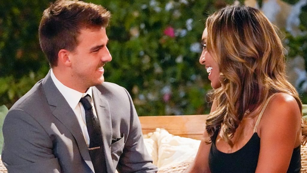 'The Bachelorette': Noah Erb and Tayshia Adams' Relationship Is 'Fun' — But Chris Harrison Questions Whether the Contestant Is Husband Material