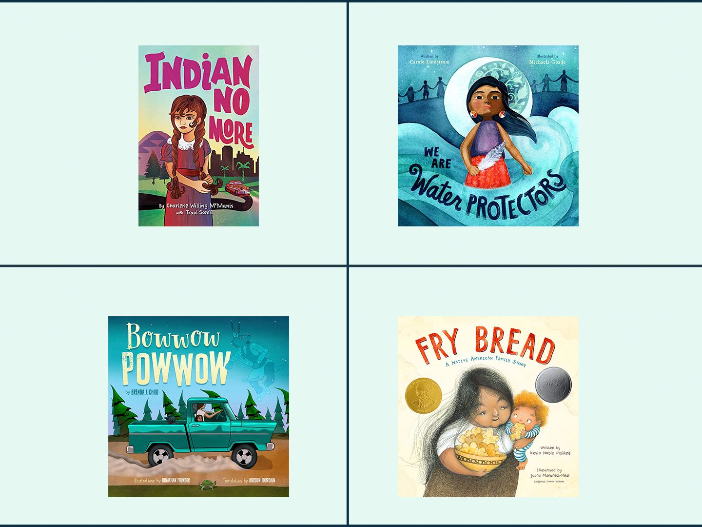 children's books by native american authors