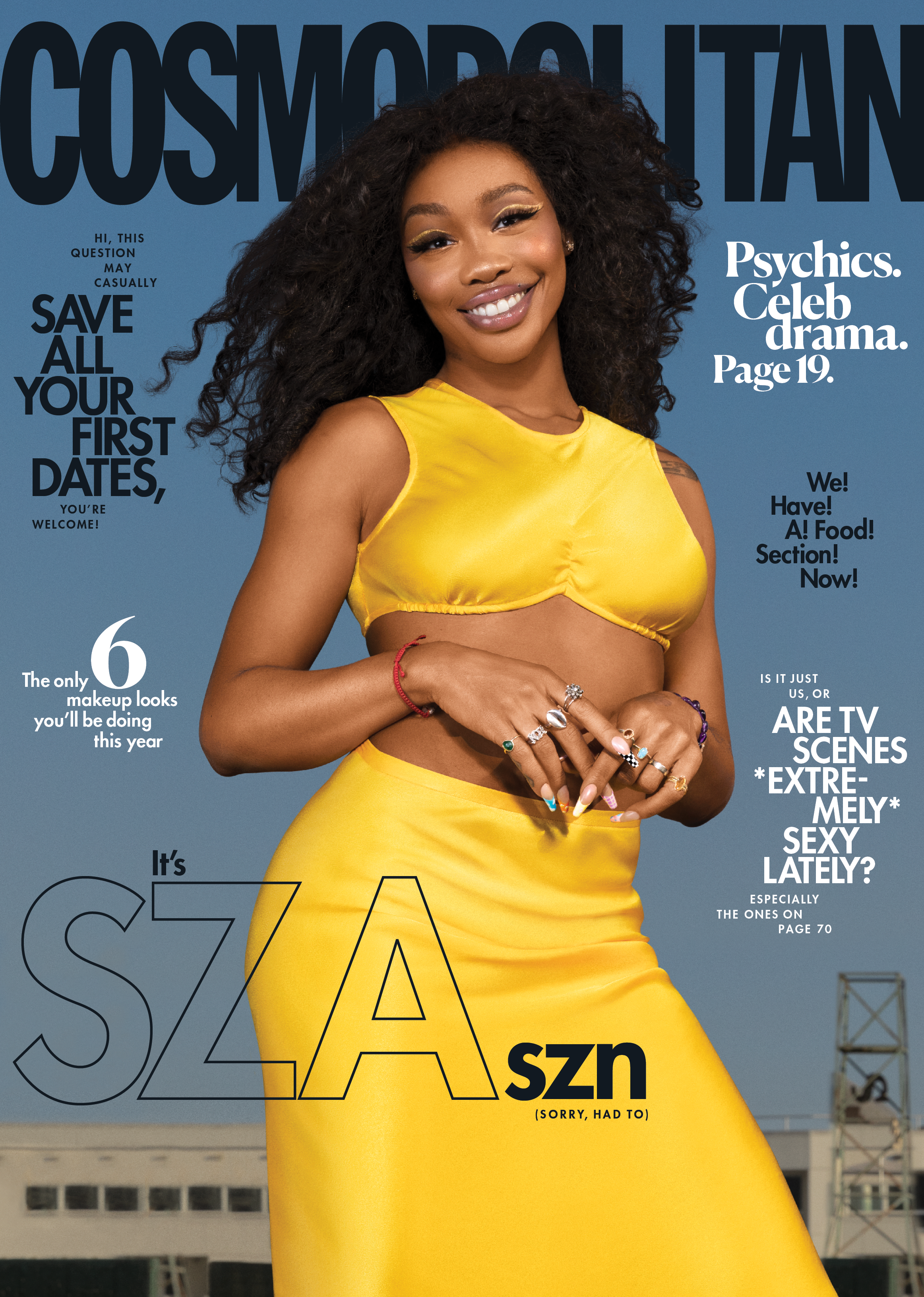 SZA SZN: Solána Covers Cosmopolitan, Says She's Not Mad At Grammy Losses And Offers Hints About Upcoming Album