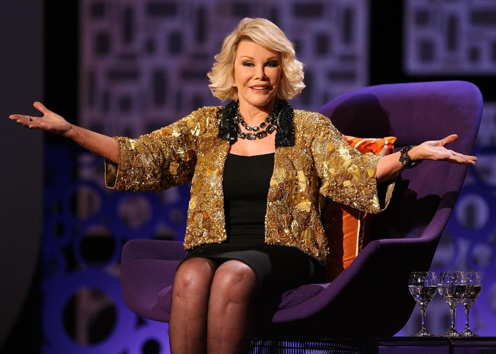 Joan Rivers had a friendship with Prince Charles