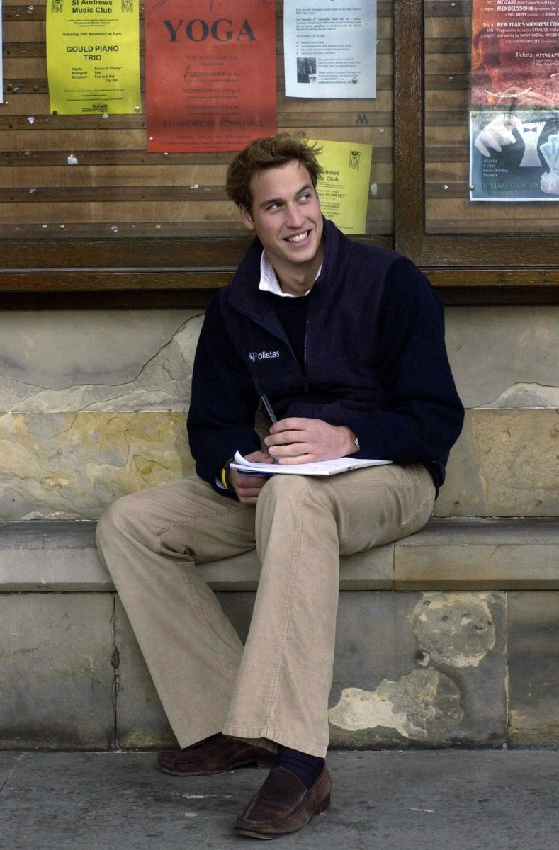 Prince William at the University of St. Andrews